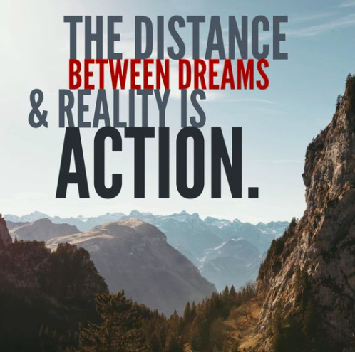 distance-between-dreams-and-reality-is-action-personal-development